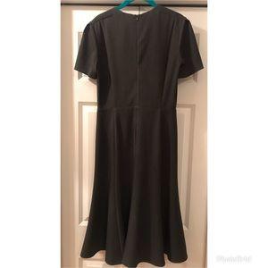 MM Lafleur Dresses - MM Lafleur Charcoal Inez Dress Short Sleeve Gray